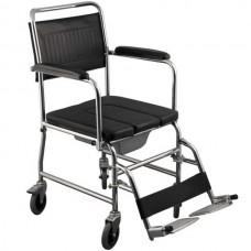 Αναπηρικό αμαξίδιο & τουαλέτα με μικρούς τροχούς