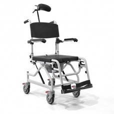 Αναπηρικό αμαξίδιο αλουμινίου αδιάβροχο με WC