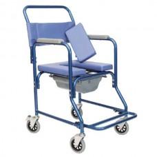 Αναπηρικό αμαξίδιο τουαλέτας και μπάνιου αλουμινίου