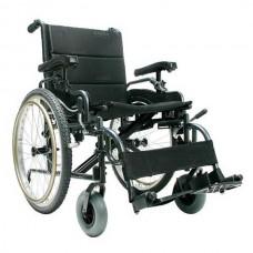 Αναπηρικό αμαξίδιο αλουμινίου βαρέως τύπου Karma Light XL