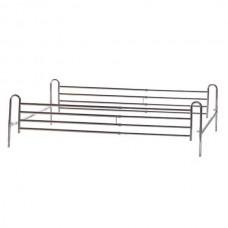 Πτυσσόμενα εξωτερικά κάγκελα για διπλό κρεβάτι