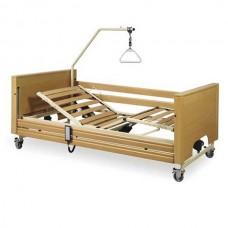 Νοσοκομειακό κρεβάτι ηλεκτρικό με ξύλινο σομιέ Prisma 4